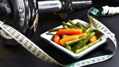 Zdravá zelenina na zahradě